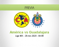 América vs Guadalajara