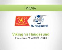 Pronóstico Viking Haugesund (27 octubre 2020)