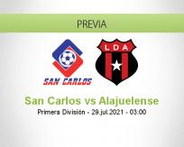 San Carlos vs Alajuelense