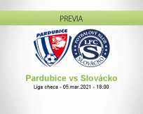 Pronóstico Pardubice Slovácko (05 marzo 2021)