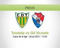 Pronóstico Tondela Gil Vicente (24 julio 2021)
