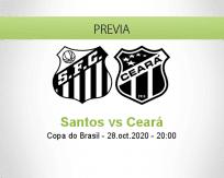 Santos vs Ceará