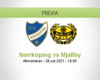 Pronóstico Norrköping Mjällby (28 octubre 2021)