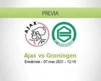 Ajax vs Groningen