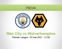 Man City vs Wolverhampton