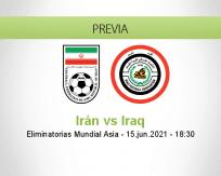 Pronóstico Irán Iraq (15 junio 2021)