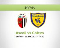 Pronóstico Ascoli Chievo (23 enero 2021)