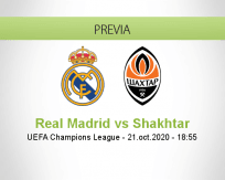 Real Madrid vs Shakhtar Donetsk