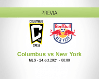 Pronóstico Columbus New York (23 octubre 2021)
