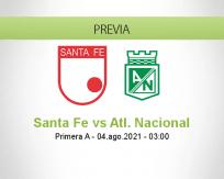 Santa Fe vs Atl. Nacional