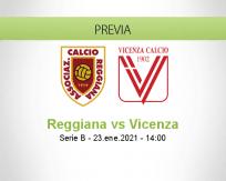Pronóstico Reggiana Vicenza (23 enero 2021)