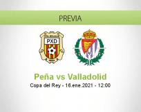 Pronóstico Peña Valladolid (16 enero 2021)