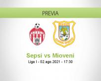 Pronóstico Sepsi Mioveni (02 agosto 2021)