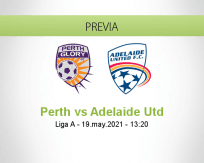 Pronóstico Perth Adelaide Utd (19 mayo 2021)