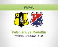 Petrolera vs Medellín