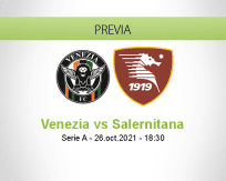 Pronóstico Venezia Salernitana (26 octubre 2021)