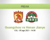 Guangzhou vs Henan Jianye