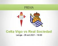 Pronóstico Celta Vigo Real Sociedad (28 octubre 2021)