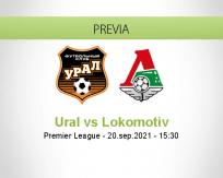 Pronóstico Ural Lokomotiv (20 septiembre 2021)