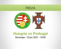 Pronóstico Hungría Portugal (15 junio 2021)