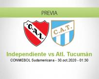 Independiente vs Atlético Tucumán