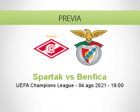 Spartak vs Benfica