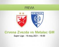 Pronóstico Crvena Zvezda Metalac GM (19 mayo 2021)