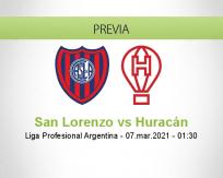 San Lorenzo vs Huracán