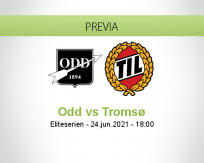 Pronóstico Odd Tromsø (24 junio 2021)