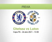 Pronóstico Chelsea Luton (24 enero 2021)