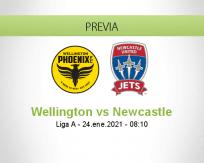 Pronóstico Wellington Newcastle (24 enero 2021)
