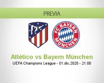 Atlético vs Bayern München