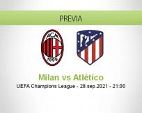 Milan vs Atlético