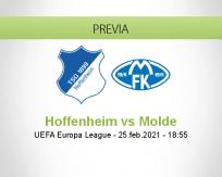Pronóstico Hoffenheim Molde (25 febrero 2021)