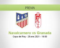 Pronóstico Navalcarnero Granada (28 enero 2021)