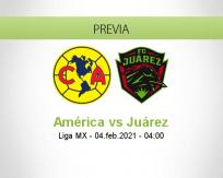 Pronóstico América Juárez (04 febrero 2021)