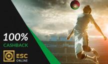Cashback Primeira Liga de 100%