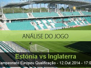 Análise do jogo: Estónia vs Inglaterra (12 Outubro 2014)