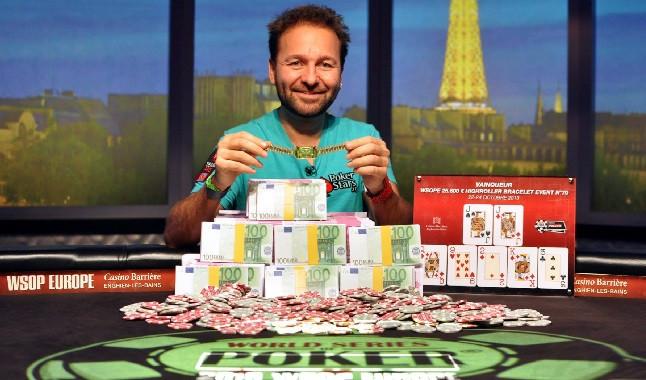 Estrella del póquer: Daniel Negreanu