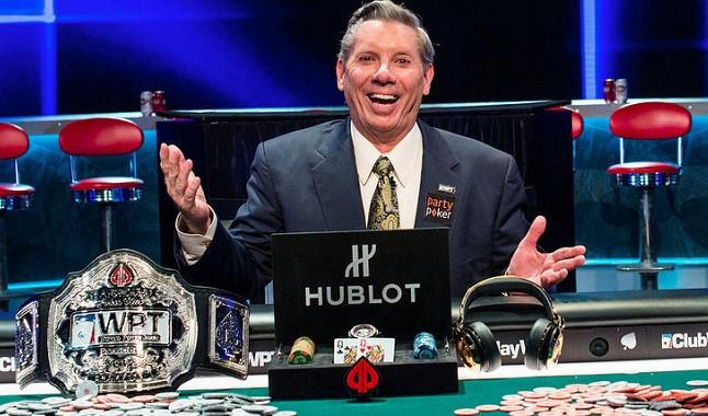 Estrella del póquer: Mike Sexton