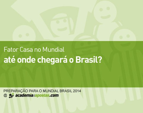 Fator casa no Mundial: até onde chegará o Brasil?