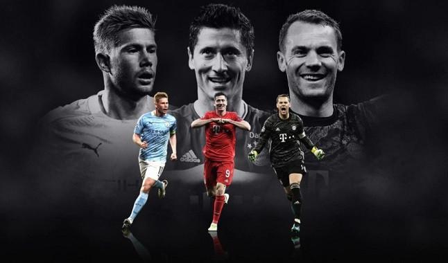 Finalistas ao prêmio de melhor jogador da Europa