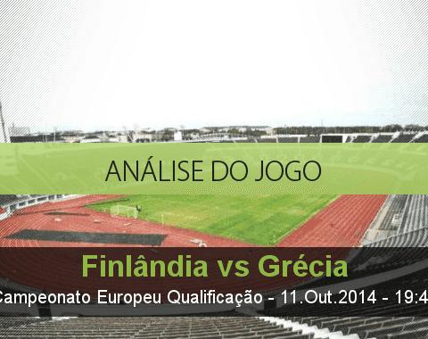 Análise do jogo: Finlândia vs Grécia (11 Outubro 2014)