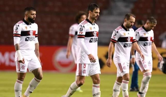 Flamengo sofre goleada histórica na Libertadores