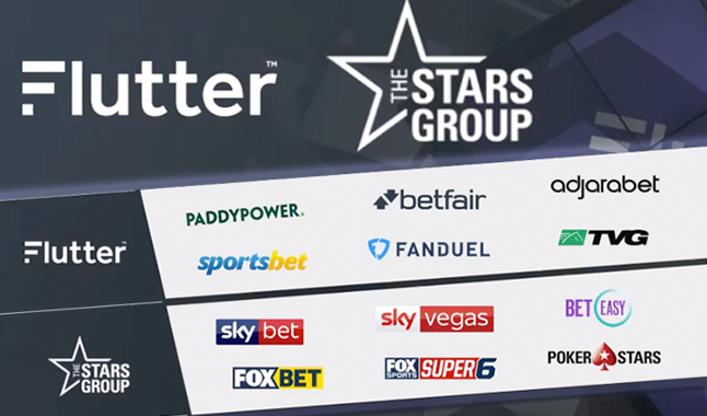 Flutter Entertainment completes £10bn merger with Stars Group