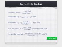 Fórmulas útiles en el trading de apuestas deportivas