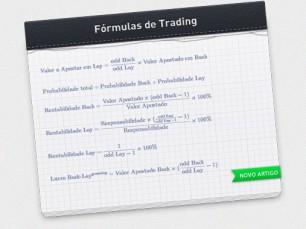 Fórmulas úteis no Trading de Apostas esportivas