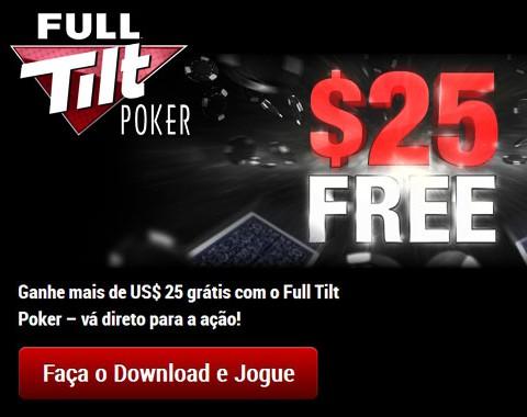 Full Tilt Poker saiba como jogar poker online sem ter de depositar