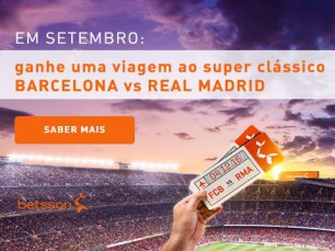 Ganhe uma viagem ao clássico Barcelona vs Real Madrid