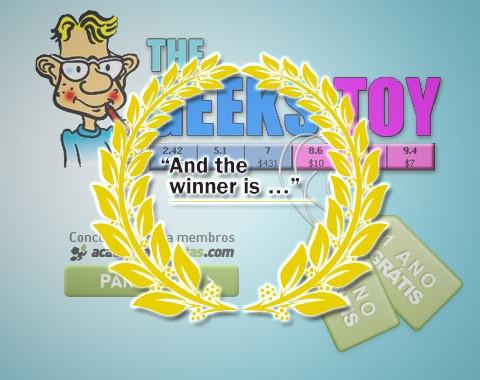 As melhores ideias para Tshirts ganham 1 Ano Grátis do Geeks Toy